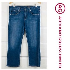 ADRIANO GOLDSCHMIED Tomboy Cropped Relaxed Jeans